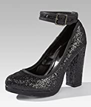 Limited Collection High Heel Glitter Dolly Shoes