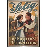 The Rustler's Reformation Poster Movie 11x17 William Duncan Lester Cuneo Myrtle Stedman