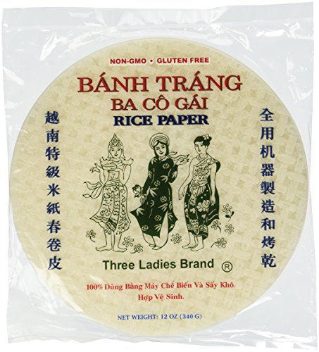 Rice Paper Wrappers (Round)