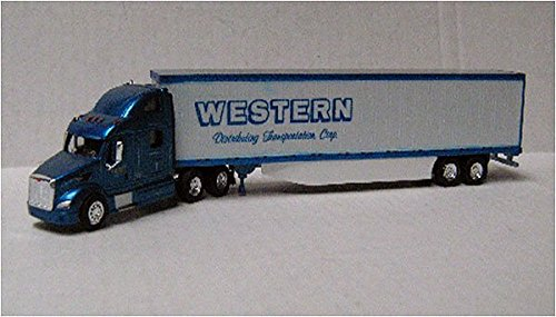 WESTERN PETERBILT 587 SLEEPER REEFER Trailer w SKIRT TONKIN 1/87 Diecast Truck HO Scale (Tonkin Trailers compare prices)