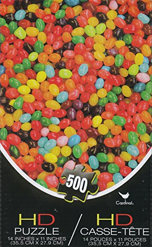 Colorful Jelly Beans HD 500 Piece Puzzle - 1