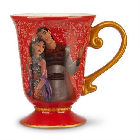 Mulan And Li Shang Mug Disney Fairytale Designer