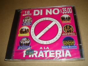 Di No a La Pirateria 18 Exitos (Audio Cd 2002)