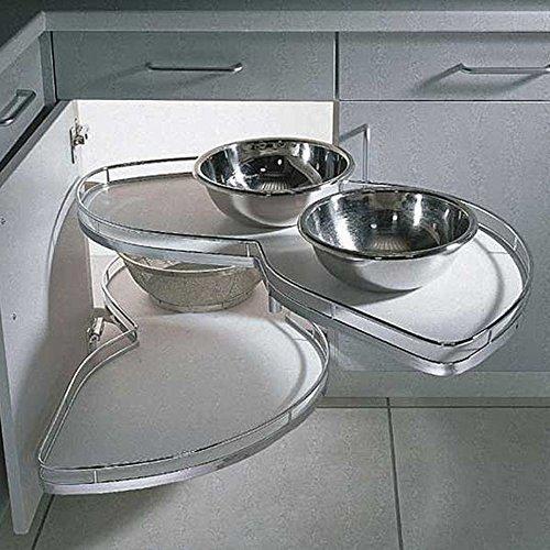 Küchen Eckschrank Schwenkauszug ~ Kesseböhmer LeMans EckschrankSchwenkauszug für 45cm Türbreite