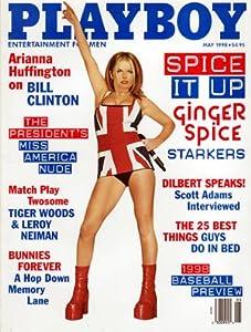 "1998 Ginger Spice ""Spice Girls"" Playboy magazine"