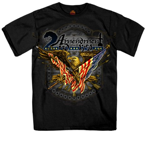 Hot Leathers 2nd Amendment Eagle Tee T-Shirt XL