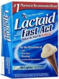 Lactaid Fast Act Lactase Enzyme Supplement Caplets-60Ct (Quantity Of 3)