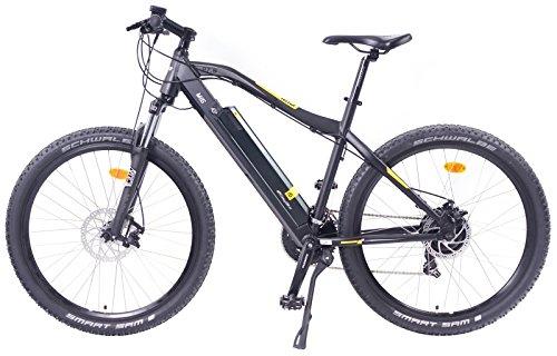 EASYBIKE-E-Bike-Elektofahrrad-MI5-650-275-Zoll-Bereifung-13Ah-396Wh-E-Mountainbike-SCHWARZ-Modell-2016