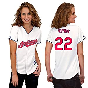 Jason Kipnis Cleveland Indians Home Ladies Replica Jersey by Majestic by Majestic