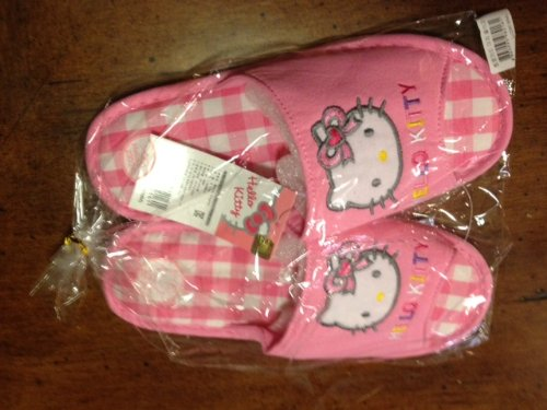 Cheap Sanrio Hello Kitty Pink Easy Wear Indoor Slipper – Universal Fit up to 9″ long (B0078KNYPS)