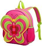 Kids Backpacks, icci [Cute] Kids Backpacks Girls Boys Backpacks Best [School] [Hiking] [Travel] Sidekick Bags, Cute Butterfly Pack Backpacks