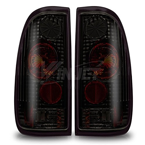 Rx3 97-03 Ford F-150 Styleside /97-07 Ford F-250 Styleside / 99-07 Ford F-350 Altezza Tail Lights - (Black / Smoke)