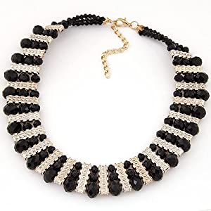 Collares Mujer Fashion Crystal Statement Necklaces & Pendants for
