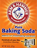 Arm & Hammer Pure Baking Soda, 8 Ounces (Pack of 6)