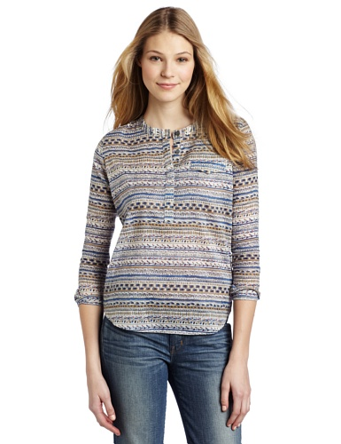 Joe's Jeans Women's Aimee Woven Top, Tibet, Small