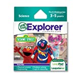 LeapFrog Explorer Sesame Street Solve It With Elmo Abby And Super Grover 2.0 Learning Game