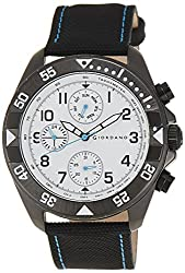 Giordano Analog White Dial Mens Watch - A1012-04