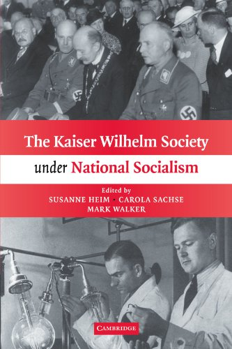 The Kaiser Wilhelm Society Under National Socialism front-1032144