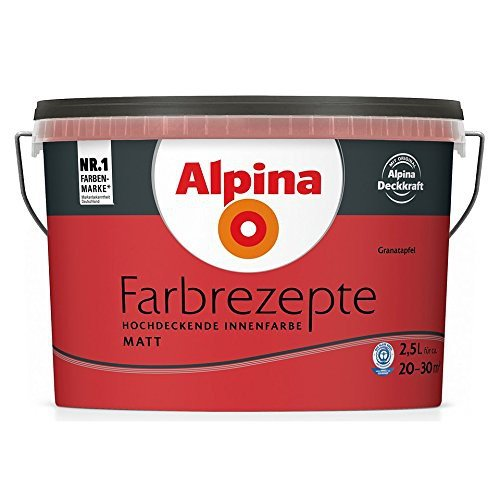 alpina farbe tim m lzer farbrezepte 2 5 l erdbeerzeit. Black Bedroom Furniture Sets. Home Design Ideas