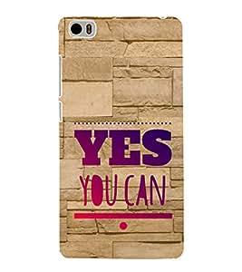 EPICCASE motivational quotes Mobile Back Case Cover For Xiaomi Mi5 (Designer Case)