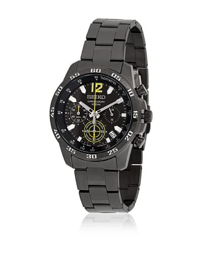 Seiko Reloj SSB131P1 Negro
