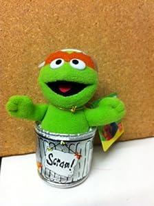 Gund Sesame Street: Oscar in Rubbish Bin approx Plush Soft Toy 75370