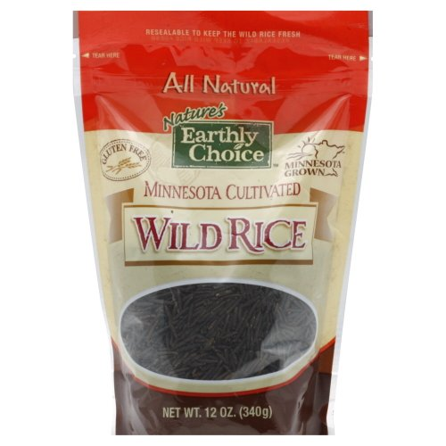 Natures Earthly Choice Minnesota Cultivated Wild Rice, 12 Ounce -- 6 Per Case.