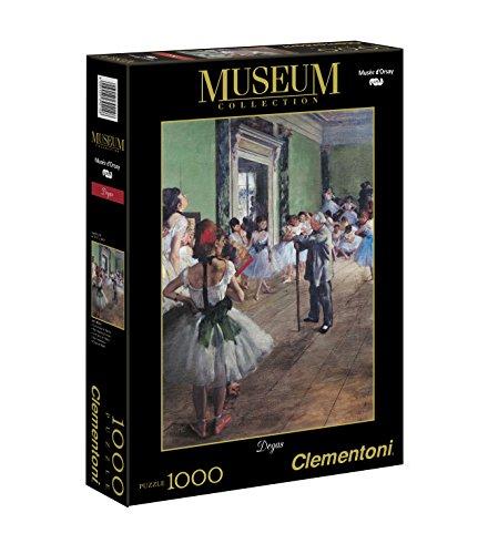 Clementoni The Dancing Lesson 1000 Piece Edgar Degas Jigsaw Puzzle