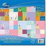 Sandylion 12-Inch by 12-Inch Mega Paper Pad, Disney, 150 Sheet Per Pad