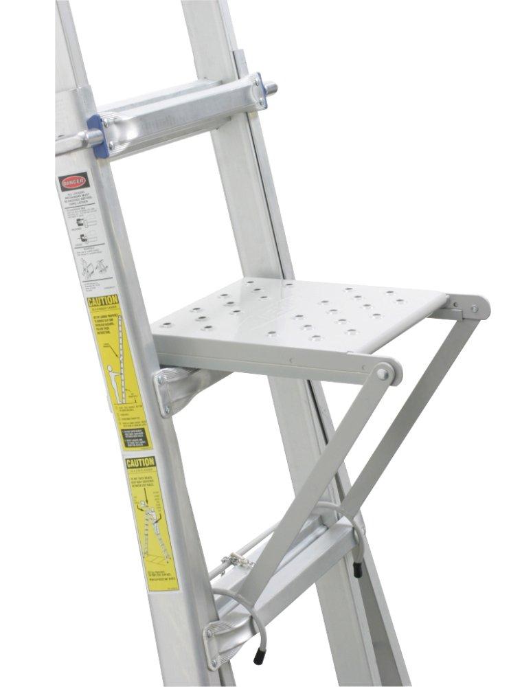 Climb Pro by Michigan Ladder 345750 2-in-1 Platform - Ladder ...