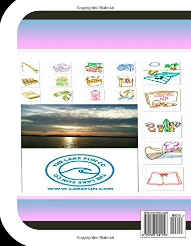 Upper Dewey Lake Fun Book: A Fun and Educational Book About Upper Dewey Lake