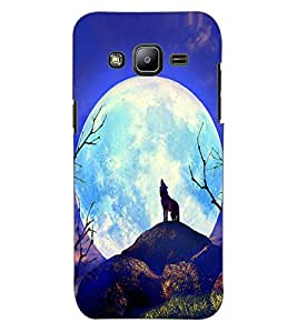 ColourCraft Fox Design Back Case Cover for SAMSUNG GALAXY J2 DUOS