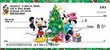 Disney Mickey & Friends Holiday Personal Checks