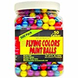 Firepower .50 Caliber 500 Count Paintballs, Assorted Colors
