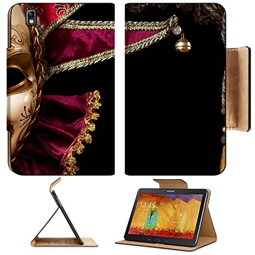 [Samsung Galaxy Tab Pro 8.4 Tablet Flip Case Carnival in Venice image with ample copyspace Isolated On black IMAGE 19315806 by MSD Customized Premium Deluxe Pu Leather generation Accessories HD Wifi] (Venice Carnival Costumes Ideas)