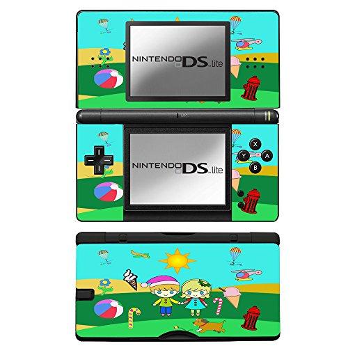 Lollipops, Skin Autoadesivo Sticker Adesivi Pelle Cover Decal Set con Disegno Strutturato con Nintendo DS Lite