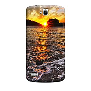 Qbic 3D High Quality Designer Mobile Back Case Cover For Huawei Honor Holly (Premium Matte Finishing Back Case)