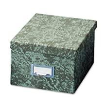 Globe-Weis Index Card Storage Drawer, Green