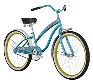 Diamondback 2013 Girl's Della Cruz Cruiser Bike (24-Inch Wheels, Teal)