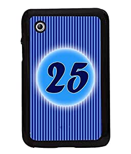 Printvisa 2D Printed Numerology Designer back case cover for Samsung Galaxy Tab 2 7.0 P3100 - D4245