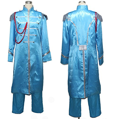 [makura Men's 2147The Beatles Sgt. Pepper's Lonely Hearts Cosplay (M)] (Sgt Pepper Paul Costume)