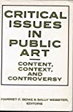 Critical Issues In Public Art