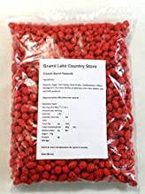French Burnt Peanuts Large 3 Pound Bag Spanish Peanuts Crunchy Candy Shell Snack