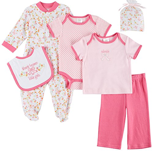 "Baby Gear Baby Girls' ""Thank Heaven"" 6-Piece Layette Set"