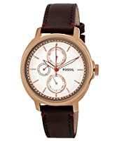Fossil End-of-season Chelsey Analog Silver Dial Women's Watch - ES3594