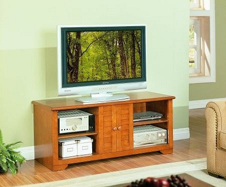 Cheap All new item Maple finish wood TV / Plasma / LCD stand entertainment center (AMB F4411)