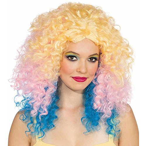 Rubie's Costume Pastel Punch Wig, Multicolor, One Size - 1