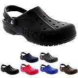 Mens Crocs Baya Slip On Hospital Holiday Lightweight Clogs Casual Shoes