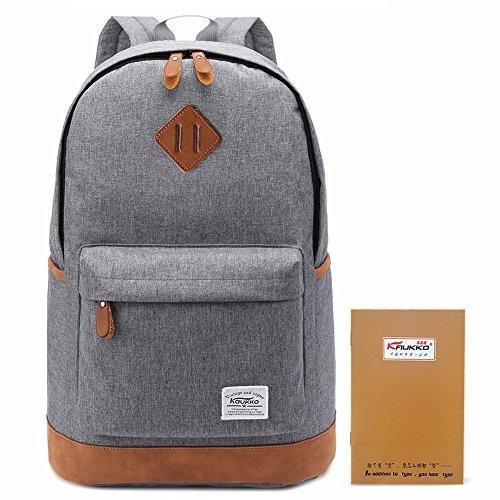 KAUKKO Fashionable Classic Style Hiking Backpack