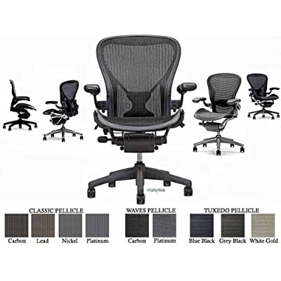 Stupendous Herman Miller Aeron Chair Highly Adjustable With Posturefit Creativecarmelina Interior Chair Design Creativecarmelinacom